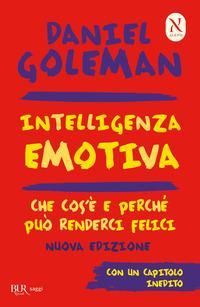 Copertina del libro Intelligenza emotiva. Che cos'è e perché può renderci felici