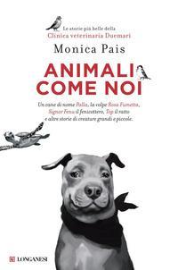 Copertina del libro Animali come noi