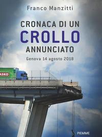 Copertina del libro Cronaca di un crollo annunciato. Genova 14 agosto 2018
