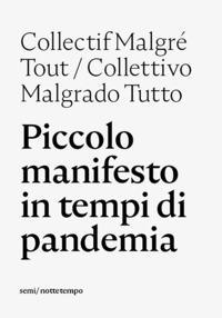 Copertina del libro Piccolo manifesto in tempi di pandemia