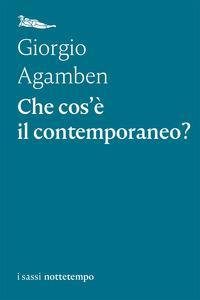 Copertina del libro Che cos'è il contemporaneo?