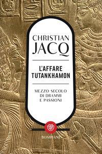 Copertina del libro L' affare Tutankhamon. Nuova ediz.