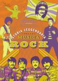 Copertina del libro Storia leggendaria della musica rock