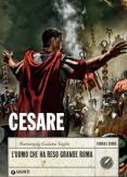 Copertina del libro Cesare. L'uomo che ha reso grande Roma