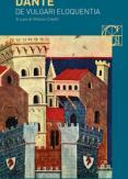 Copertina del libro De vulgari eloquentia. Testo latino a fronte